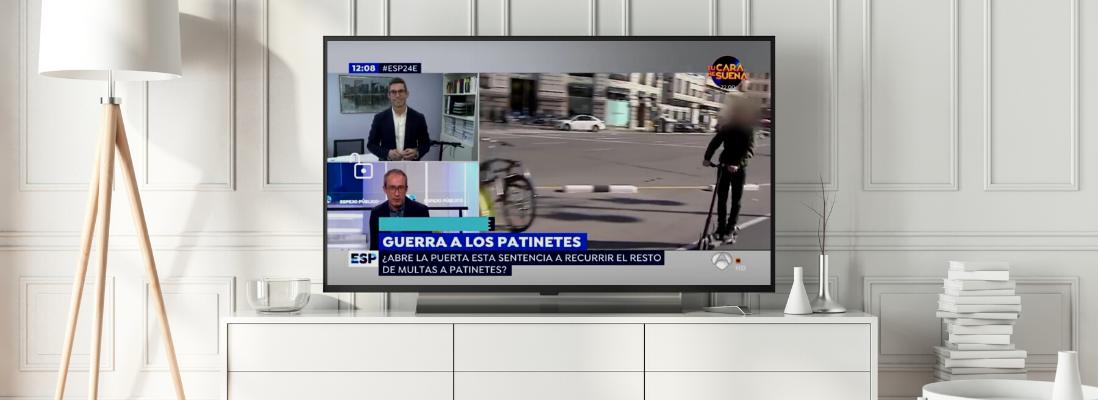 """Entrevista a Rafael Moreno en el programa """"Espejo Público"""" de Antena 3"""
